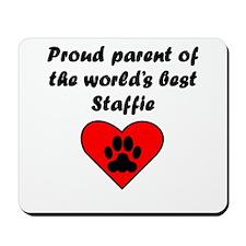 Staffie Parent Mousepad