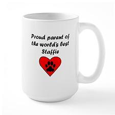 Staffie Parent Mugs