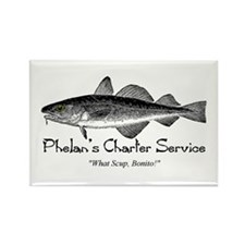 Phelan Fishing Charter Rectangle Magnet (10 pack)