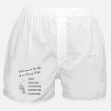 Life of An Army Wife Boxer Shorts
