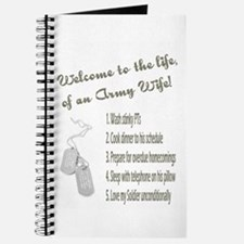 Life of An Army Wife Journal