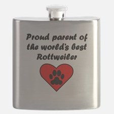 Rottweiler Parent Flask