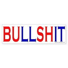 BUllSHit Bumper Bumper Sticker