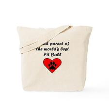Pit Bull Parent Tote Bag