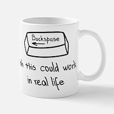 Backspace button Mugs