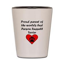 Parson Russell Terrier Parent Shot Glass