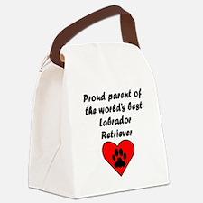 Labrador Retriever Parent Canvas Lunch Bag