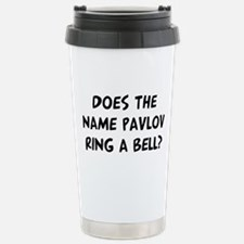 Does Pavlov Travel Mug