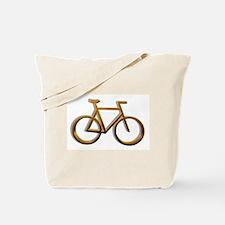 Gold Bicycle Designs Tote Bag