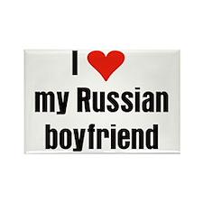 Russian Boyfriend Rectangle Magnet