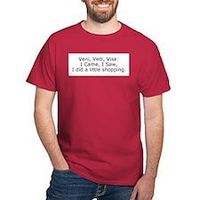 Did a little Shopping T-Shirt