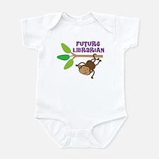 Future Librarian Monkey Infant Bodysuit