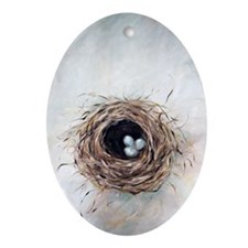 nest Oval Ornament
