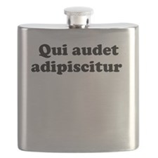 Qui audet adipiscitur Flask