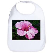 Pink Hibiscus Bib