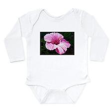 Pink Hibiscus Body Suit