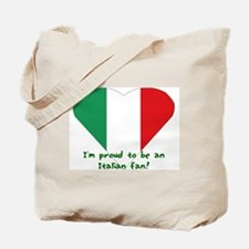 Italian fan Tote Bag