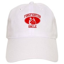 Firefighter UNCLE (Flame) Baseball Cap