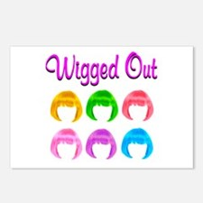 WIGGED OUT Postcards (Package of 8)