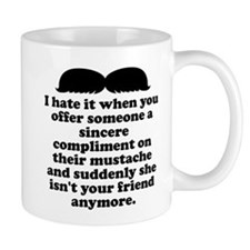 Compliment Her Mustache Mugs