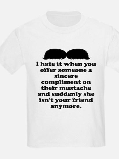Compliment Her Mustache T-Shirt
