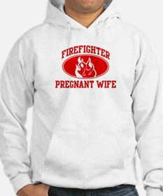 Firefighter PREGNANT WIFE (Fl Hoodie