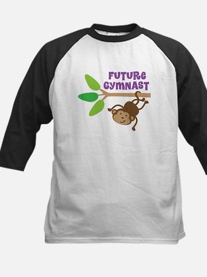Future Gymnast Kids Baseball Jersey
