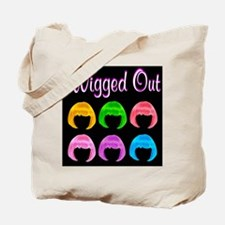 GOING WIGGY Tote Bag