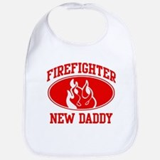 Firefighter NEW DADDY (Flame) Bib