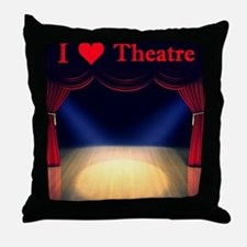Theatre Throw Pillow