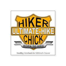 Hiker Chick-HD Sticker