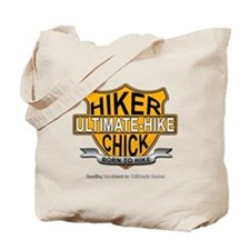 Hiker Chick-HD Tote Bag