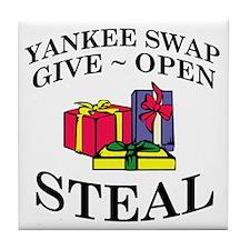 Yankee Swap Tile Coaster
