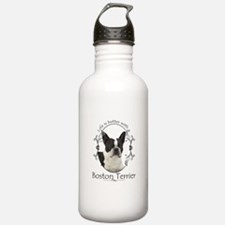 Lifes Better Boston Water Bottle