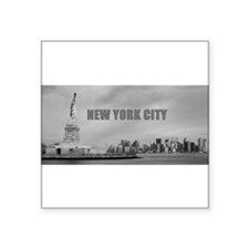 "Stunning! New York USA - Pr Square Sticker 3"" x 3"""