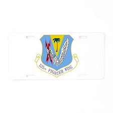 125th FW Aluminum License Plate