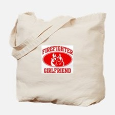 Firefighter GIRLFRIEND (Flame Tote Bag