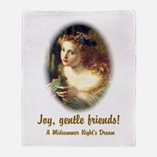 Joy, Gentle Friends! Throw Blanket
