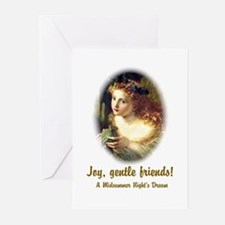 Joy, Gentle Friends! Greeting Cards