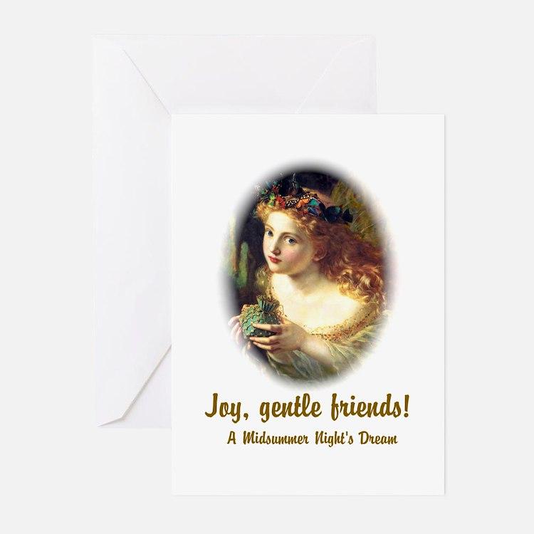 Joy, Gentle Friends! Greeting Cards