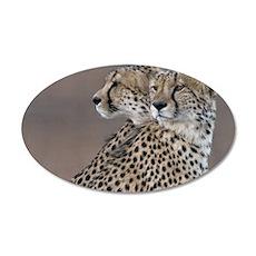 Two Headed Cheetah Wall Decal