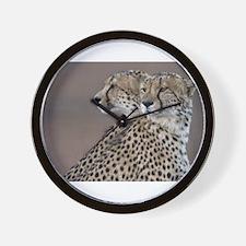 Two Headed Cheetah Wall Clock