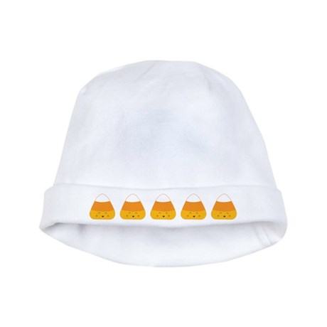 Halloween Candy Corn baby hat