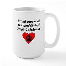 Irish Wolfhound Parent Mugs