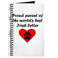 Irish Setter Parent Journal