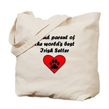 Irish Setter Parent Tote Bag