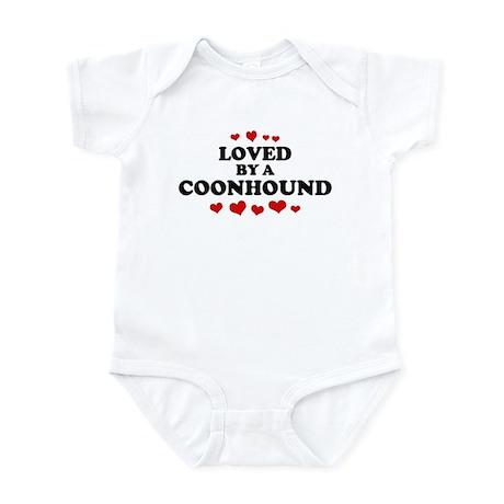 Loved: Coonhound Infant Bodysuit