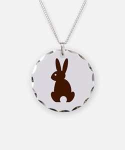 Bunny rabbit easter Necklace