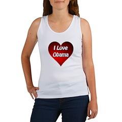 I Love Obama 2012 Women's Tank Top