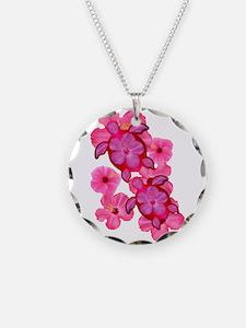 Hawaiian Honu And Hibiscus Necklace